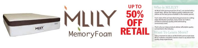 Milly memory foam up to 50 percent off retail picture
